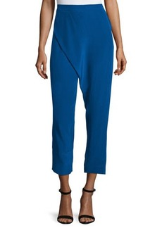 CoSTUME NATIONAL Wrap-Front Cropped Pants