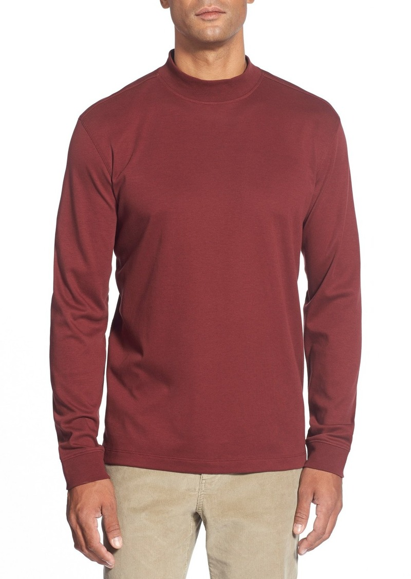 Cutter buck cutter buck 39 belfair 39 long sleeve mock for Mock long sleeve t shirts