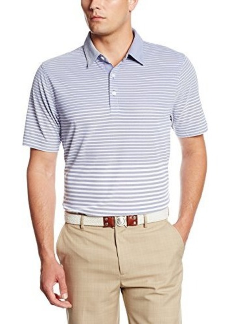 Cutter buck cutter buck men 39 s drytec destiny oxford for Cutter buck polo shirt size chart