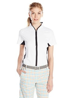 Cutter & Buck Women's Drytec Short Sleeve Chloe Mockneck Polo