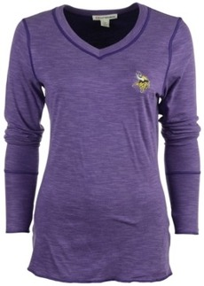 Cutter & Buck Women's Long-Sleeve Minnesota Vikings Reversible Formation T-Shirt