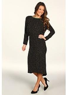 Cynthia Rowley Beaded Tweed Open Back Dress