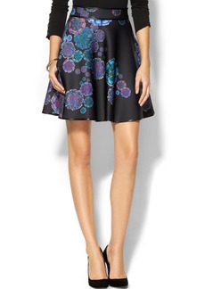 Cynthia Rowley Bonded Short Skirt