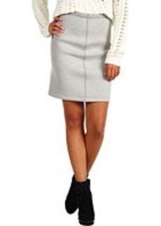 Cynthia Rowley Bonded Sweatshirt Skirt