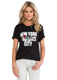 Cynthia Rowley Censored T-Shirt in Black