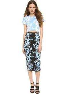 Cynthia Rowley Cutout Dress