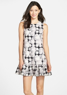 Cynthia Rowley Daisy Print Drop Waist Dress