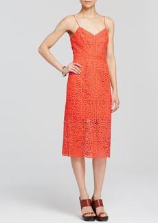 Cynthia Rowley Dress - Sleeveless Lace Midi Slip