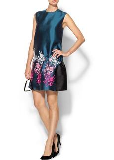 Cynthia Rowley Embroidered Drop Waist Tunic