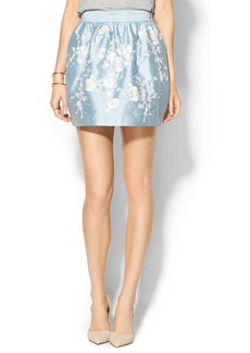 Cynthia Rowley Embroidered Full Skirt