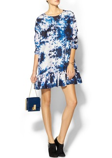 Cynthia Rowley Exaggerated Ruffle Dress