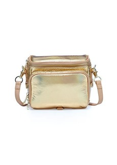 Cynthia Rowley Finn Metallic Camera Bag
