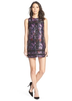 Cynthia Rowley Iris Print Shift Dress