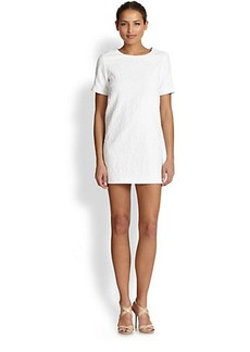 Cynthia Rowley Jacquard Shift Dress