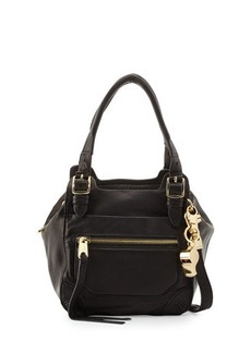 Cynthia Rowley Juno Medium Leather Satchel Bag
