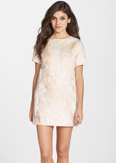 Cynthia Rowley Marble Jacquard Shift Dress