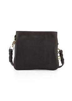 Cynthia Rowley Nixie Leather Crossbody Bag, Black