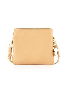 Cynthia Rowley Nixie Leather Crossbody Bag, Vachetta
