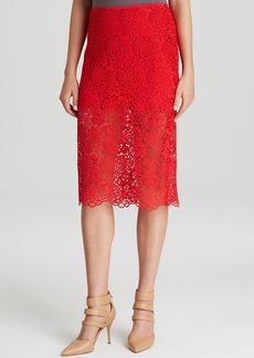 Cynthia Rowley Pencil Skirt - Lace