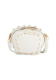 Cynthia Rowley Piper Studded Leather Crossbody Bag