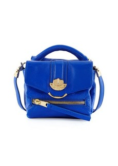 Cynthia Rowley Posy Flap-Top Leather Crossbody Bag