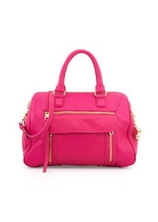 Cynthia Rowley Reece Leather Satchel Bag, Rose