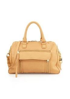 Cynthia Rowley Reece Leather Satchel Bag, Vachetta
