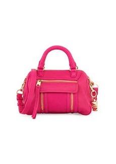 Cynthia Rowley Reece Mini Leather Satchel Bag, Rose