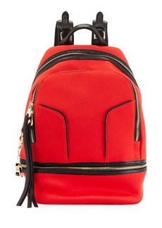 Cynthia Rowley Scuba & Leather Brody Backpack
