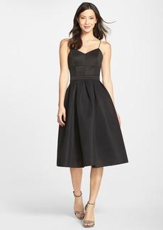 Cynthia Rowley Scuba Bustier Maxi Dress