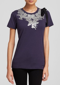 Cynthia Rowley Tee - Exclusive Bow and Sparkles