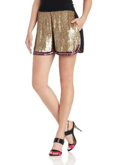 Cynthia Rowley Women's Sequin Hoop Short