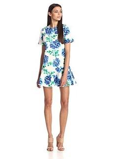Cynthia Rowley Women's Short-Sleeve Printed Shift Dress