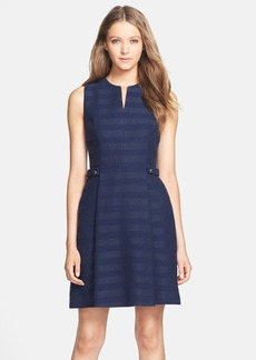 Cynthia Steffe 'Addison' Cotton Blend Fit & Flare Dress
