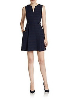 Cynthia Steffe Addison Splitneck Dress
