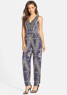 Cynthia Steffe 'Amelie' Print Jumpsuit