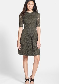Cynthia Steffe 'Arlene' Lace Fit & Flare Dress