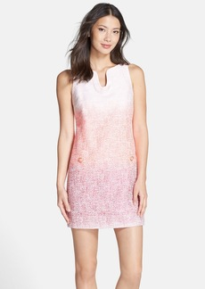 Cynthia Steffe 'Bailey' Ombré Woven Shift Dress