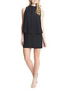 CYNTHIA STEFFE Camilla Pleated Sleeveless Dress