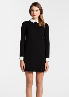 Cynthia Steffe Collared Ponte Knit Shift Dress