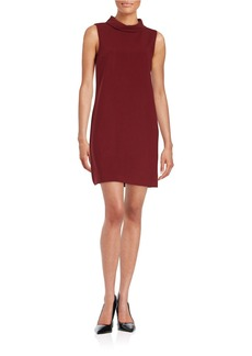 CYNTHIA STEFFE Collared Shift Dress
