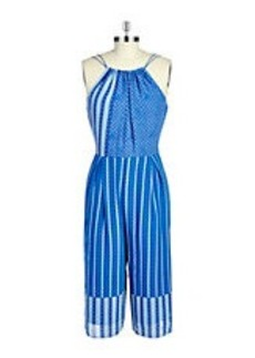 CYNTHIA STEFFE Cropped Jumpsuit
