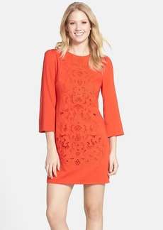 Cynthia Steffe Cutout Ponte Knit Shift Dress