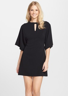 Cynthia Steffe 'Dani' Butterfly Sleeve Crepe Shift Dress