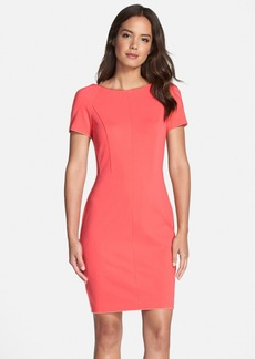 Cynthia Steffe Double Panel Sheath Dress