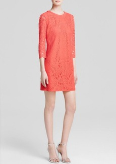 Cynthia Steffe Dress - Hallie Three-Quarter Sleeve Lace
