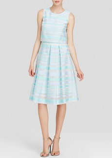Cynthia Steffe Dress - Karolina Sleeveless Striped Popover