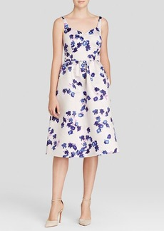 Cynthia Steffe Dress - Katrina Sweetheart Neck Floral Print Midi