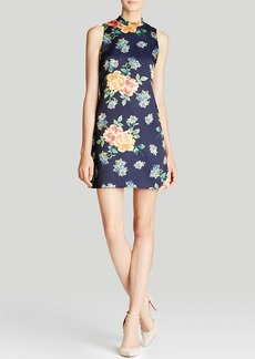 Cynthia Steffe Dress - Kenna Sleeveless Floral Print A-Line Shift