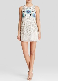 Cynthia Steffe Dress - Lola Sleeveless Floral Beaded Tank